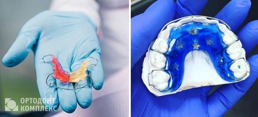 Ношение ретенционных пластинок после брекетов
